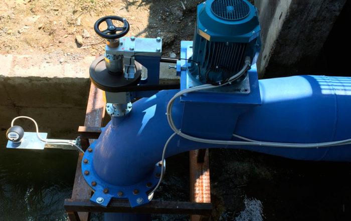 micro turbina idroelettrica